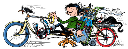 André Franquin's 57th Anniversary of Gaston Lagaffe : Belgium