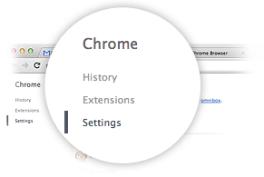 Google Chrome preferences