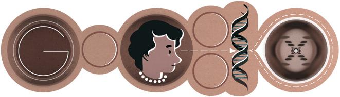 93e Geboortedag Rosalind Franklin