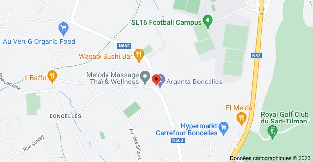 Rue Nicolas Fossoul 1, 4100 Seraing: carte
